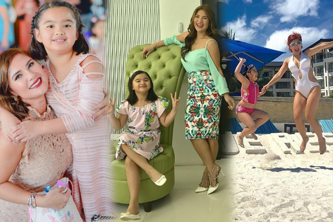 LOOK: 50 Photos that perfectly showed Vina Morales being a cool mommy!