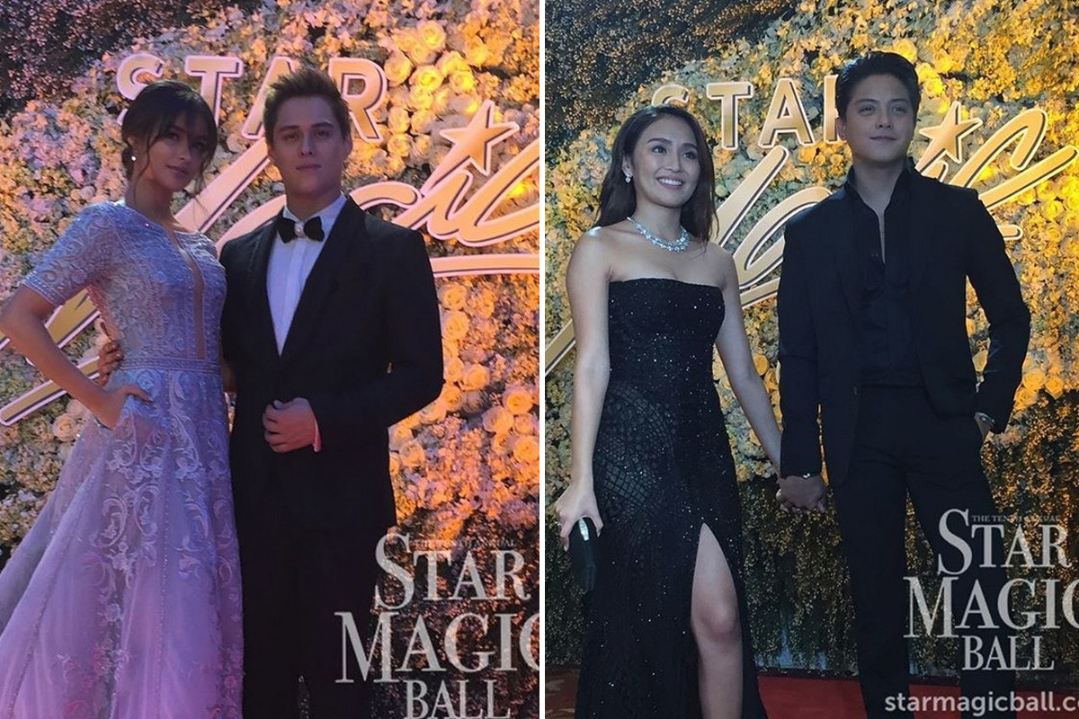 6 Loveteams who made us all shriek and kilig in the Star Magic Ball
