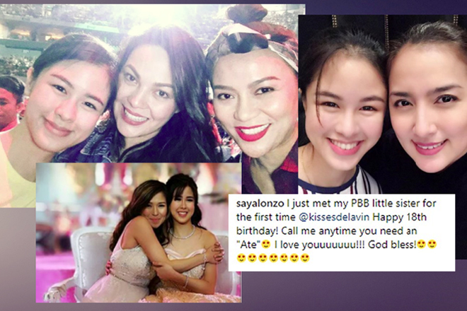 "LOOK: 10 Times that show Kisses found her ""sisters"" for life in showbiz"