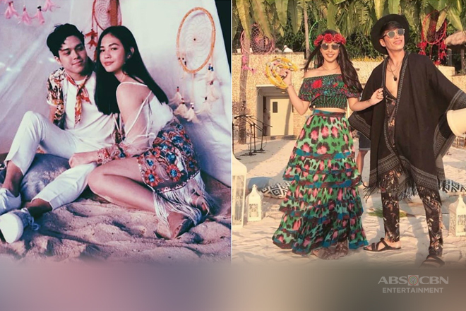 LOOK: ElNella spotted and other celebrities at Rob & Maxene's pre-wedding day!
