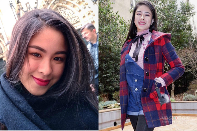 SPOTTED: Kisses Delavin's blooming beauty in Czech Republic