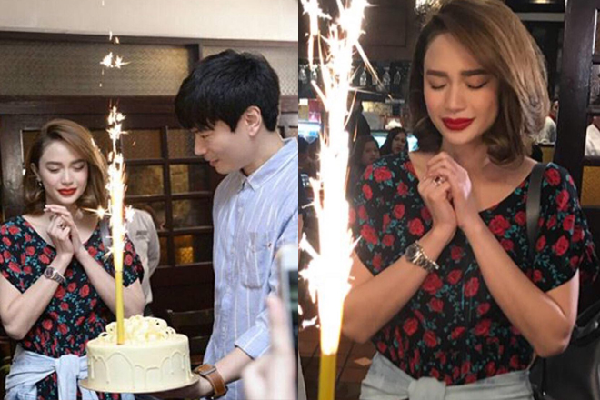SURPRISE! Arci Muñoz beyond happy on her birthday!