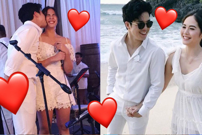 LOOK: Sweet moments of Elmo and Janella at Rob & Maxene's wedding