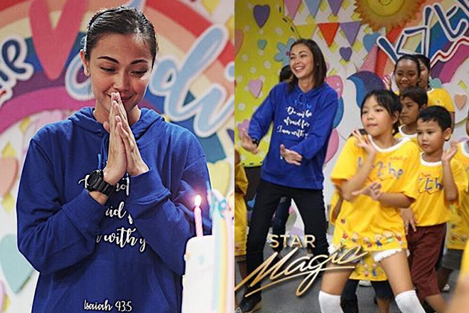 IN PHOTOS: Jodi Sta. Maria celebrates her birthday with the kids of Kythe Foundation