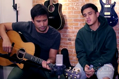 """WATCH: Sam Milby and Khalil Ramos' acoustic cover of """"Shape Of You"""" & """"Treat You Better"""""""