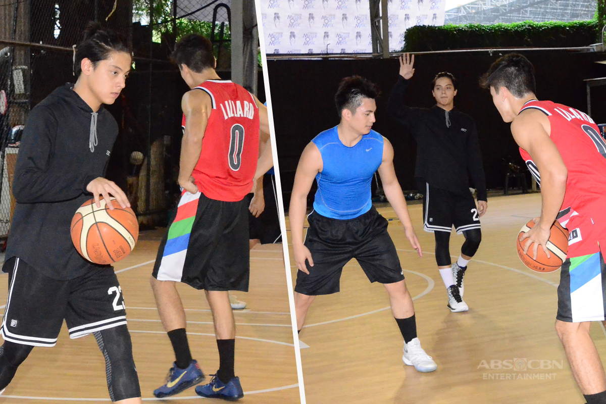 WATCH: Daniel Padilla Leads the Practice Game Of Red Team For The Star Magic All-Star Game