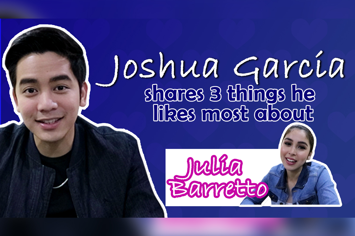 Joshua shares 3 things he loves about Julia