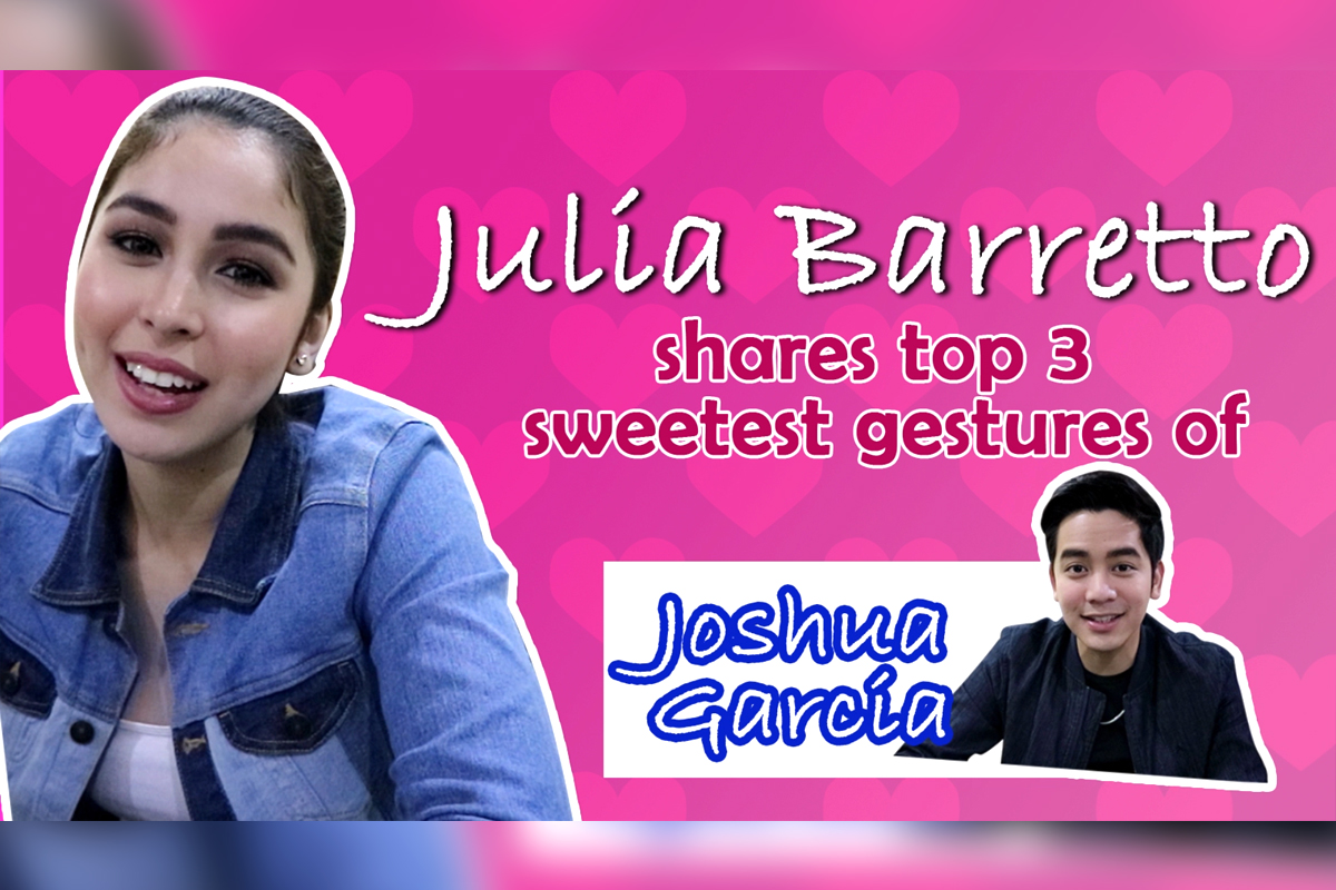 3 sweetest things Joshua has ever done for Julia