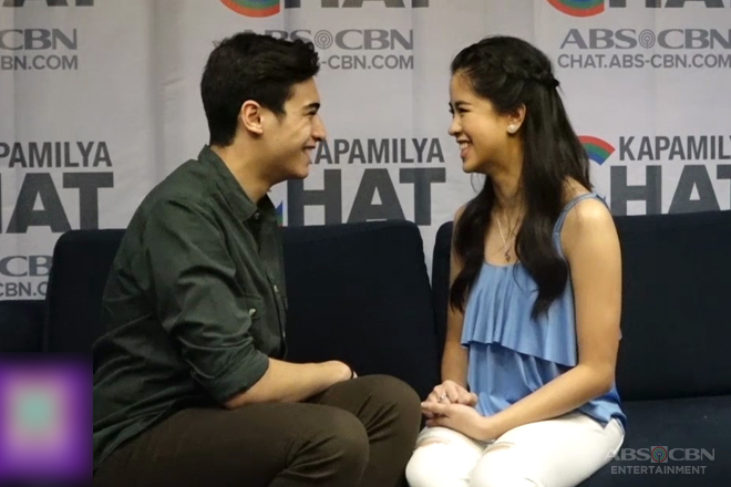 Kisses Vs Marco in Kapamilya Chat's Titigan Challenge