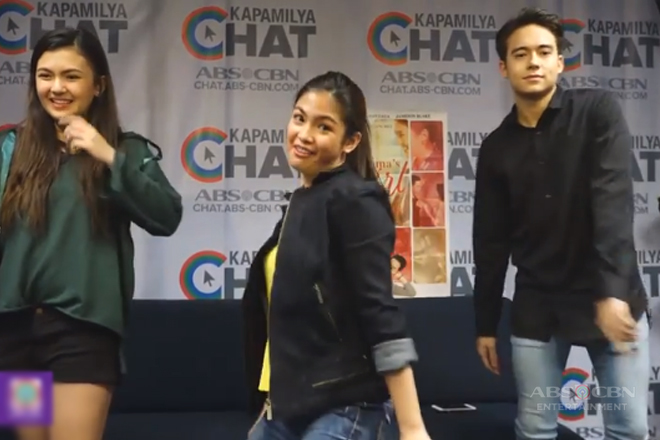 "Jameson, Karen & Heaven in ""Taga Saan Ka?"" Dance showdown"