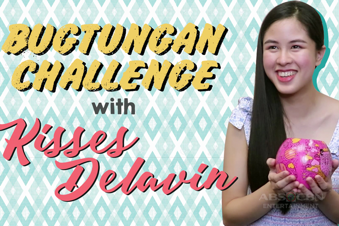 Bugtong bugtong with Kisses Delavin