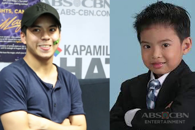Nash Aguas takes on Kapamilya Chat's Throwback Challenge