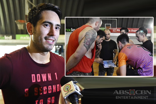 WATCH: Gerald Anderson leads Team Blue's Tune Up Game for All-Star Game 2018