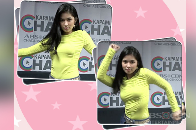 Watch: Loisa Andalio dances ala Sarah G
