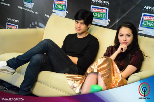 PHOTOS: Ang napakagandang si Julia Montes sa Kapamilya Chat