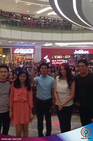Halik Sa Hangin Mall Shows (Glorietta, Lucky Chinatown and SM San Lazaro)