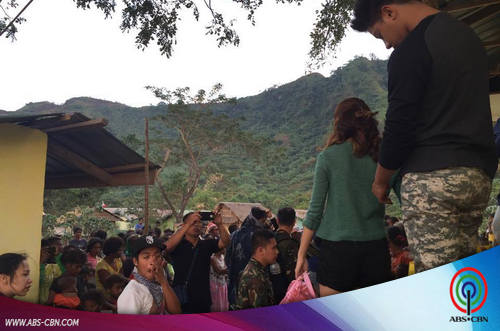KathNiel's treasured moments with the Aetas