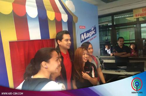 Magical moments with John Lloyd Cruz in Baguio