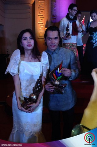 PHOTOS: Jake Cuenca is 7th Ani Ng Dangal's Best Actor for his role in Mulat