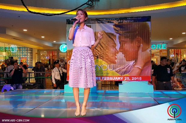 PHOTOS: Kathryn and Daniel in Crazy Beautiful You Mall Show
