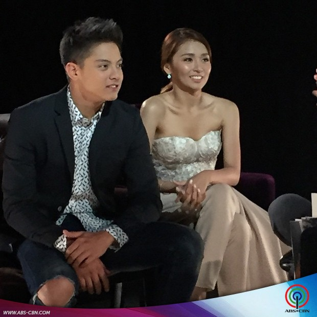 PHOTOS: Crazy beautiful tandem of KathNiel on The Buzz