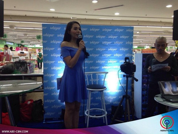 Julia Montes at the Whisper Event