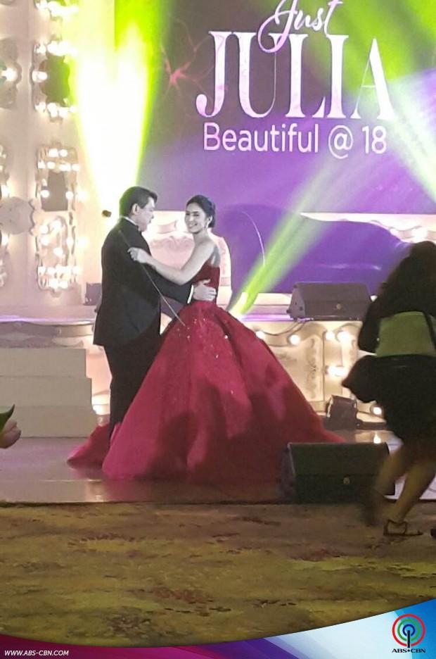 The 18 Roses of #JustJulia #BeautifulAt18