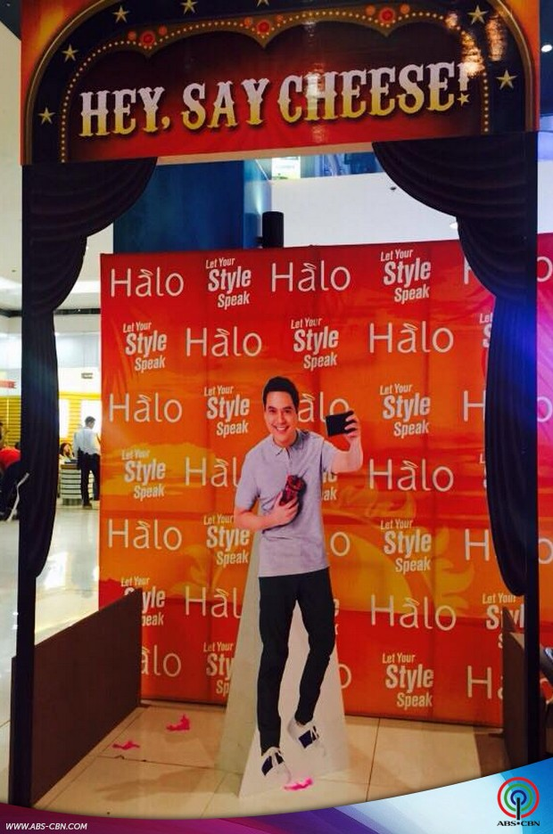 John Lloyd at the Halo To Summer event