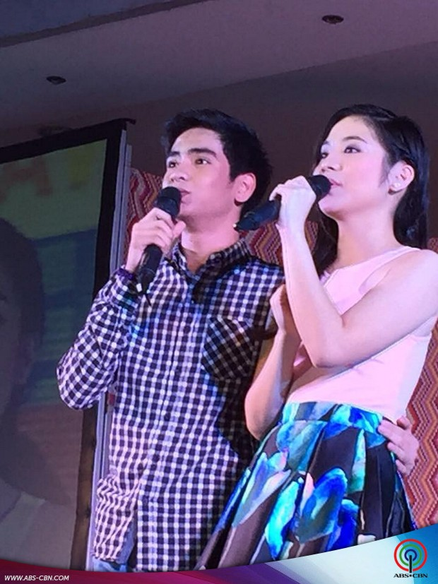Star Magic artists at the Araw ng Dabaw event