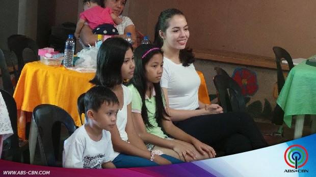 Julia Montes celebrates her birthday with the Ephesus kids