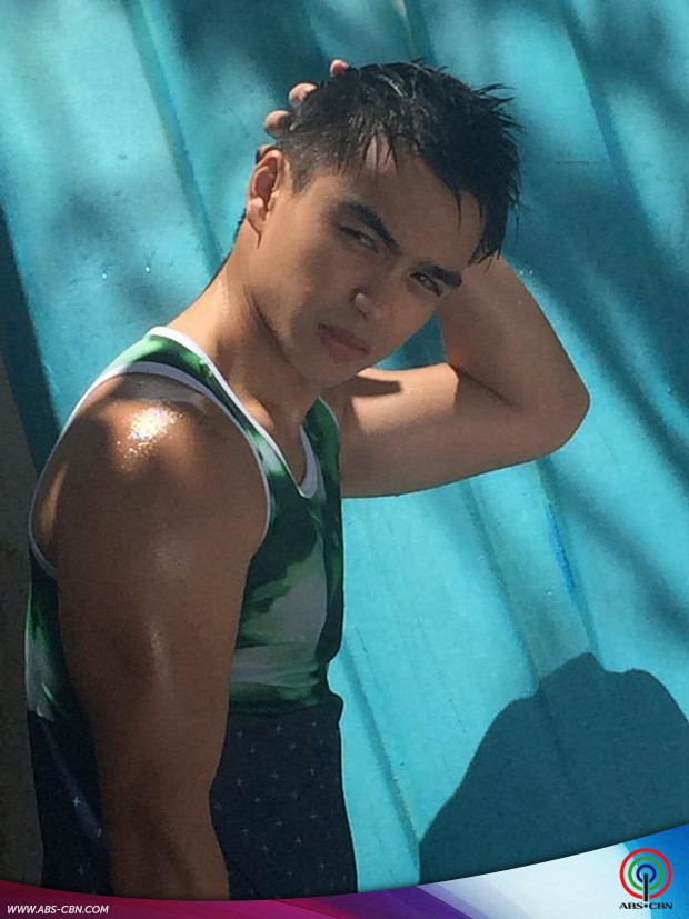 Dominic shows his hot bod at the Garage Magazine pictorial