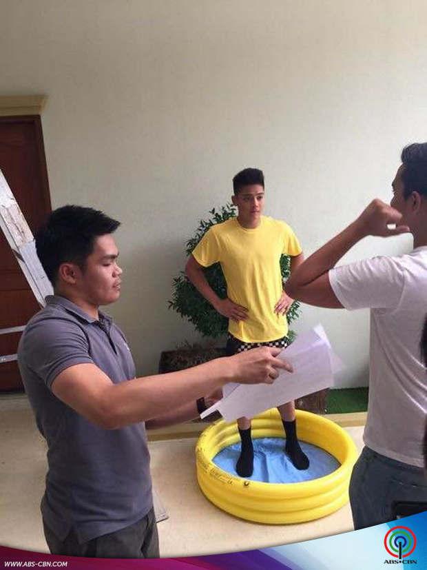 Daniel Padilla gets 'slimed'