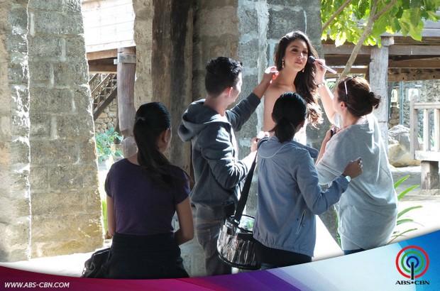 Julia Barretto at Las Casas Filipinas de Acuzar