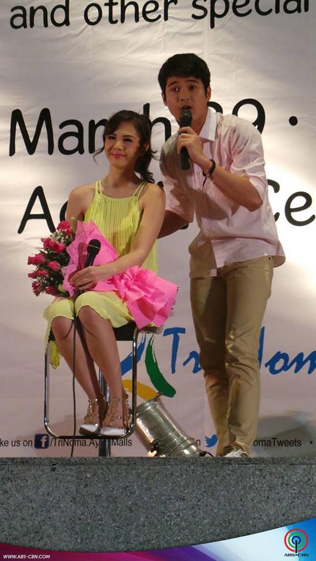 PHOTOS: Kilig to the max kasama si Marlo sa Grand Fans Day ni Janella