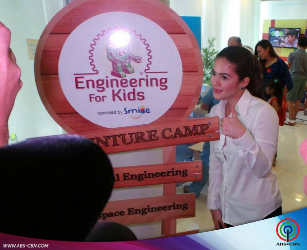 Shaina and Vina at the Engineering for Kids Adventure Camp