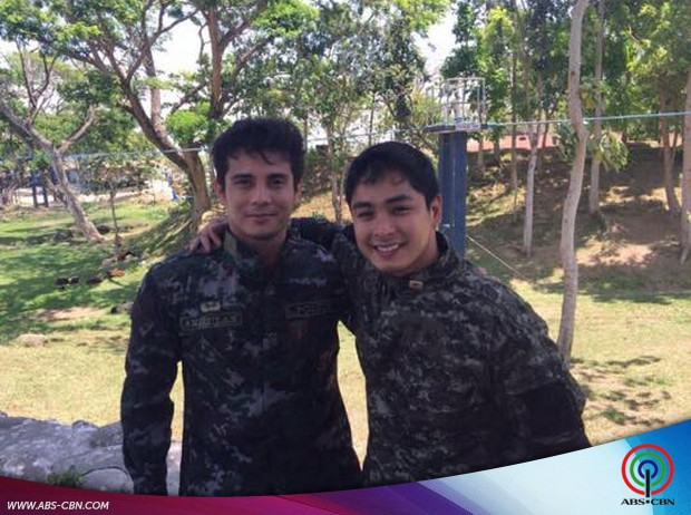 Ejay bilang SAF officer for MMK