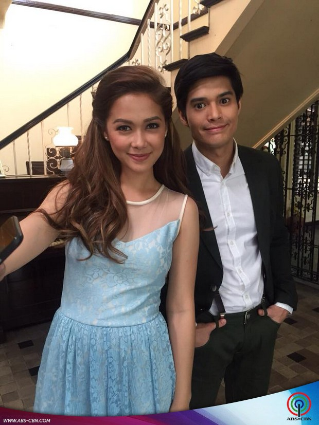 Maja's music video shoot featuring JC de Vera