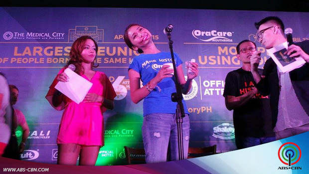 Kathryn takes the OraCare challenge
