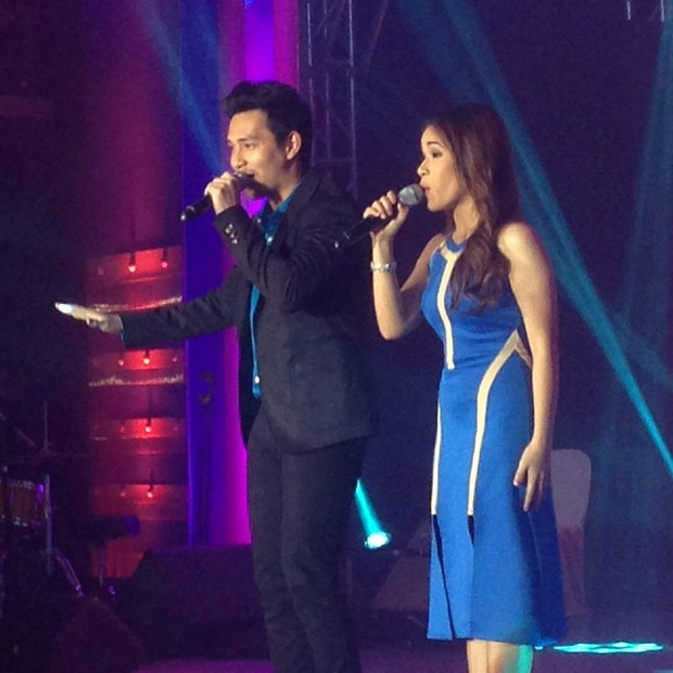 Kapamilya celebrities at the Sky Cable Silver Anniversary