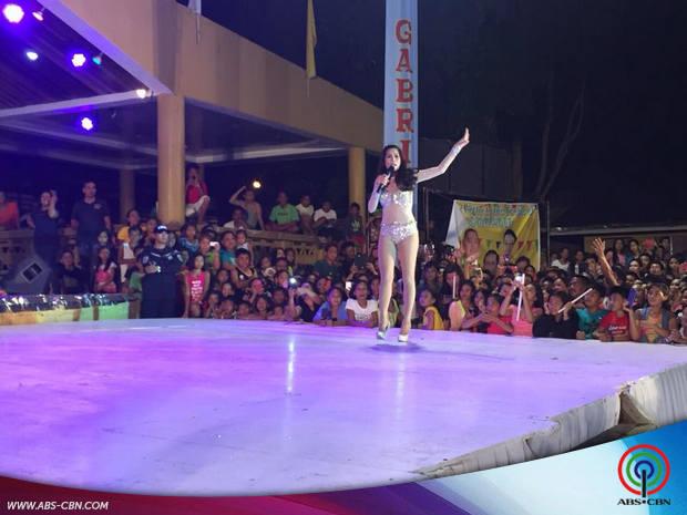 Pokwang at Zanjoe nakisaya sa Santander Fiesta sa Cebu