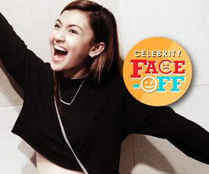 LOOK: Ang kikay na si Karen Reyes sa Celebrity Face Off
