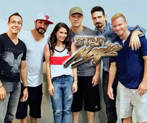 Tippy Dos Santos meets The Backstreet Boys