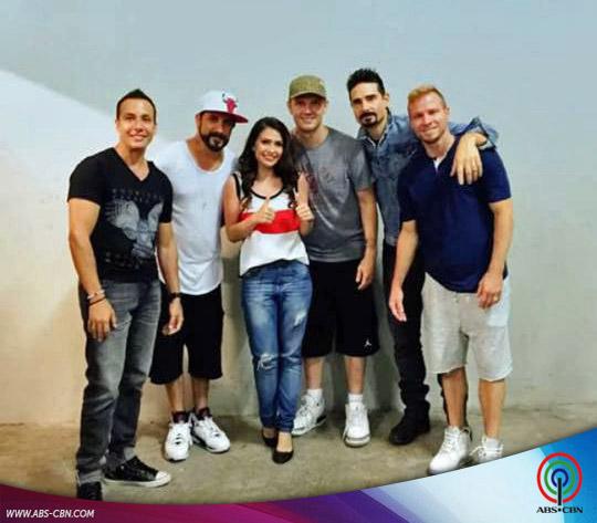 Tippy Dos Santos meets The Backstreet Boys