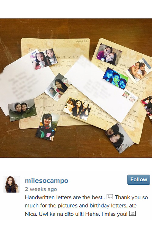 How Miles Ocampo celebrated her 18th birthday