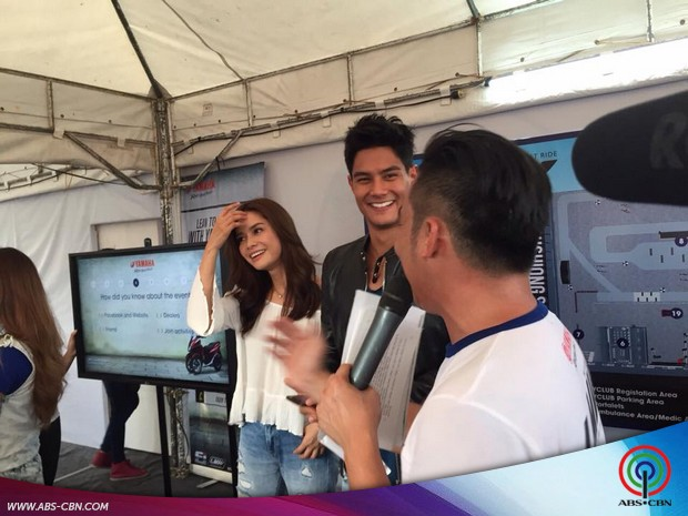 Gerald and Erich at the Yamaha Tricity event