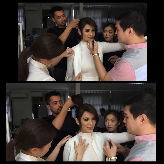 Kristine Hermosa looking fresh and beautiful at the Star Magic Catalogue pictorial