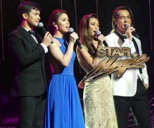 Kapamilya stars at the 46th Box Office Entertainment Awards