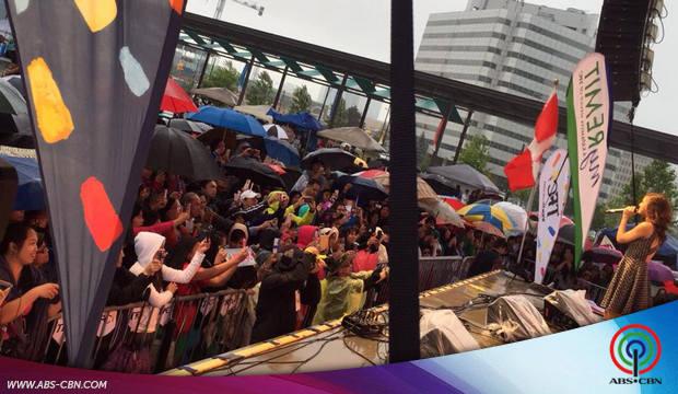 Kim Chiu performs at the Fiesta ng Kalayaan 2015