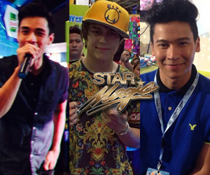 Heartthrobs Enrique, Enchong and Xian at the Suysing event