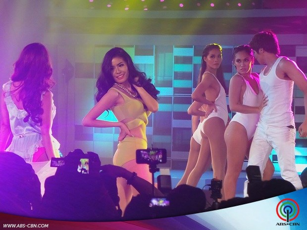 Myrtle Sarrosa at the FHM 100 Sexiest Victory Party